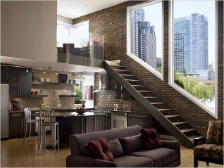 Perfect Industrial Style Loft Designs Ideas For Living Room 30