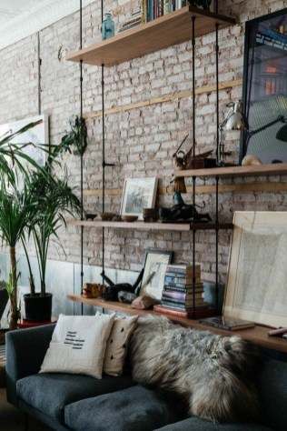 Perfect Industrial Style Loft Designs Ideas For Living Room 48