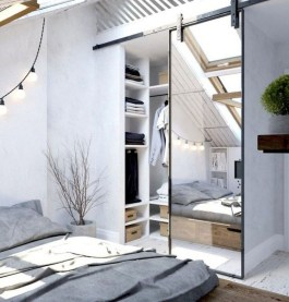 Relaxing Small Loft Bedroom Designs 01
