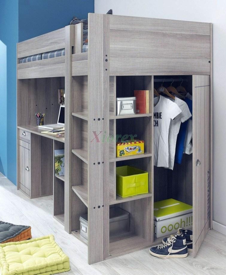 Relaxing Small Loft Bedroom Designs 13