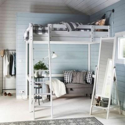 Relaxing Small Loft Bedroom Designs 19