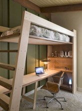 Relaxing Small Loft Bedroom Designs 23