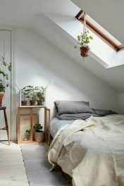 Relaxing Small Loft Bedroom Designs 41