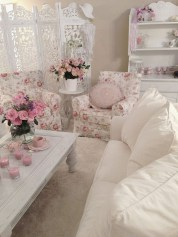 Shabby Chic Decoration Ideas For Living Room 14