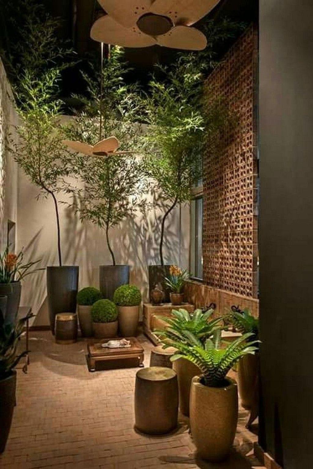 Stunning Small Patio Garden Decorating Ideas 41