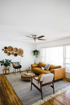 Unique Mid Century Living Room Ideas With Furniture 16