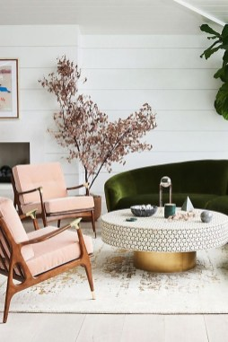Unique Mid Century Living Room Ideas With Furniture 34
