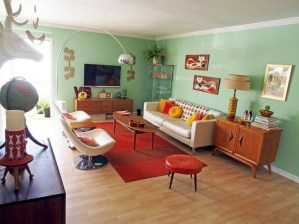 Unique Mid Century Living Room Ideas With Furniture 43