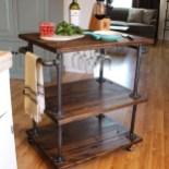 Wonderful Apartment Coffee Bar Cart Ideas 13