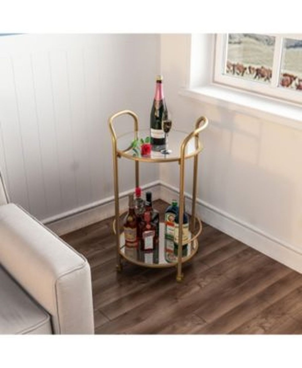 Wonderful Apartment Coffee Bar Cart Ideas 39