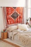 Wonderful Bohemian Design Decorating Ideas For Bedroom 23