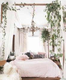 Wonderful Bohemian Design Decorating Ideas For Bedroom 25