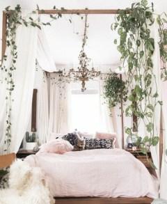Wonderful Bohemian Design Decorating Ideas For Bedroom 25