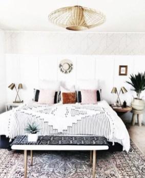 Wonderful Bohemian Design Decorating Ideas For Bedroom 31