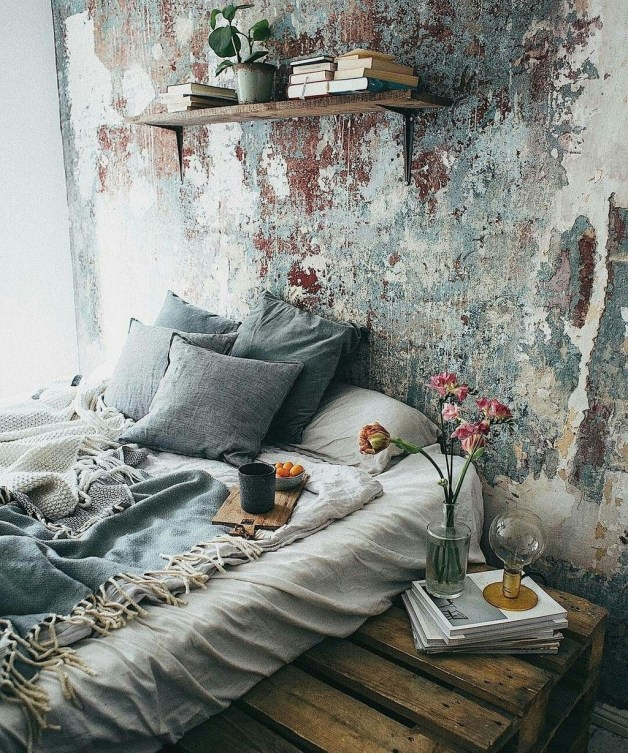 Wonderful Bohemian Design Decorating Ideas For Bedroom 48