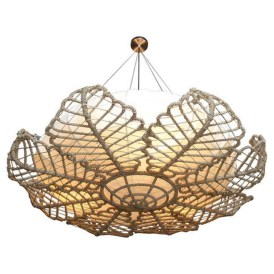 Adorable Hanging Lamp Designs Ideas From Rattan 17