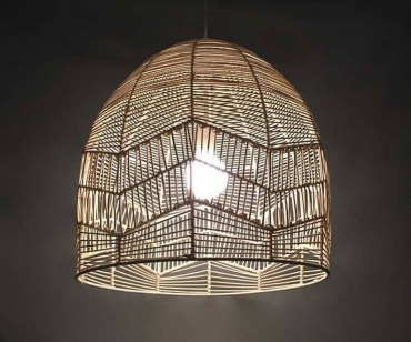 Adorable Hanging Lamp Designs Ideas From Rattan 49