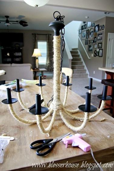 Attractive Diy Chandelier Designs Ideas 51