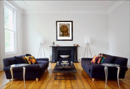 Catchy Living Room Designs Ideas With Bold Black Furniture 32
