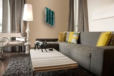 Catchy Living Room Designs Ideas With Bold Black Furniture 44