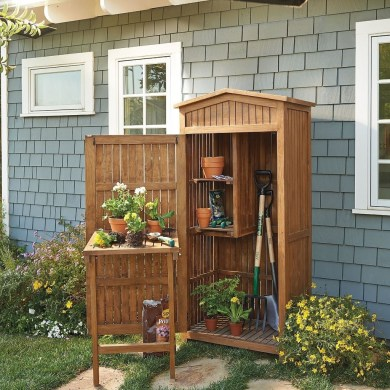 Cool Small Storage Shed Ideas For Garden 25