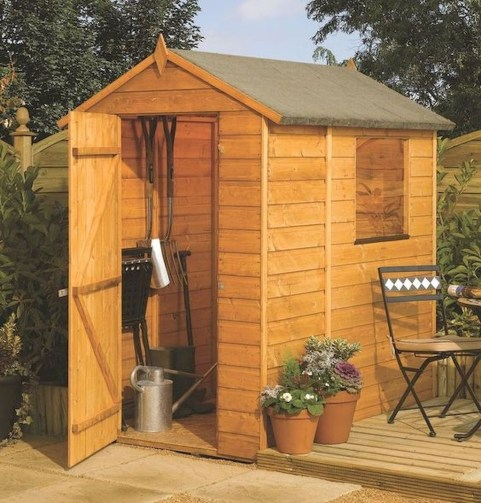 Cool Small Storage Shed Ideas For Garden 28