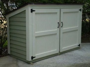 Cool Small Storage Shed Ideas For Garden 46