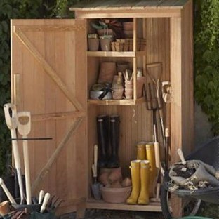 Cool Small Storage Shed Ideas For Garden 47