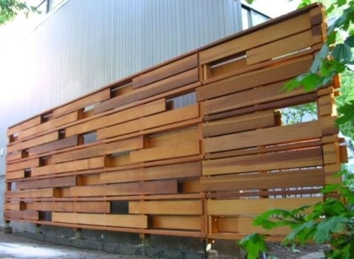 Cute Garden Fences Walls Ideas 06