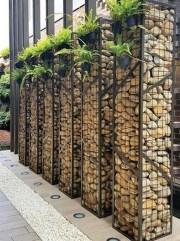 Cute Garden Fences Walls Ideas 24