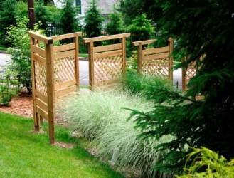 Cute Garden Fences Walls Ideas 33