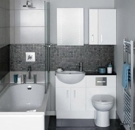 Elegant Bathroom Makeovers Ideas For Small Space 29