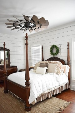Elegant Farmhouse Decor Ideas For Bedroom 17