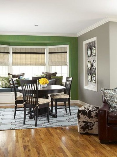 Enchanting Living Rooms Ideas With Combinations Of Grey Green 31