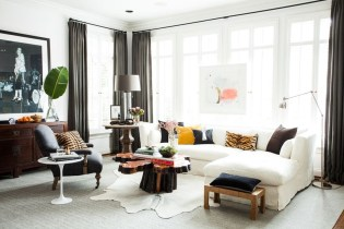 Enchanting Living Rooms Ideas With Combinations Of Grey Green 49