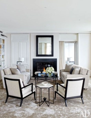 Impressive French Style Living Room Designs Ideas 53