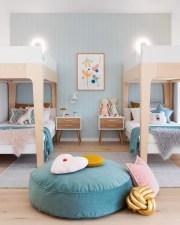 Inspiring Shared Kids Room Design Ideas 11