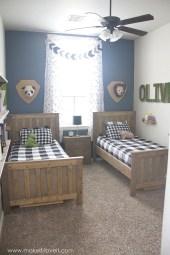 Inspiring Shared Kids Room Design Ideas 20
