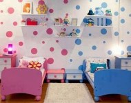Inspiring Shared Kids Room Design Ideas 26