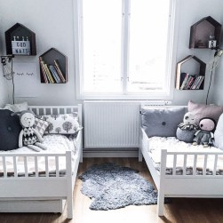 Inspiring Shared Kids Room Design Ideas 31