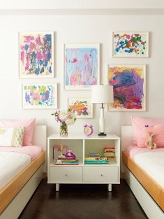 Inspiring Shared Kids Room Design Ideas 40