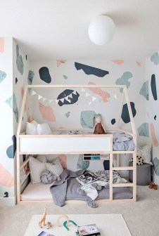 Inspiring Shared Kids Room Design Ideas 43
