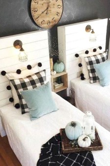Inspiring Shared Kids Room Design Ideas 45