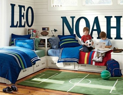 Inspiring Shared Kids Room Design Ideas 50