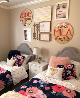 Inspiring Shared Kids Room Design Ideas 51