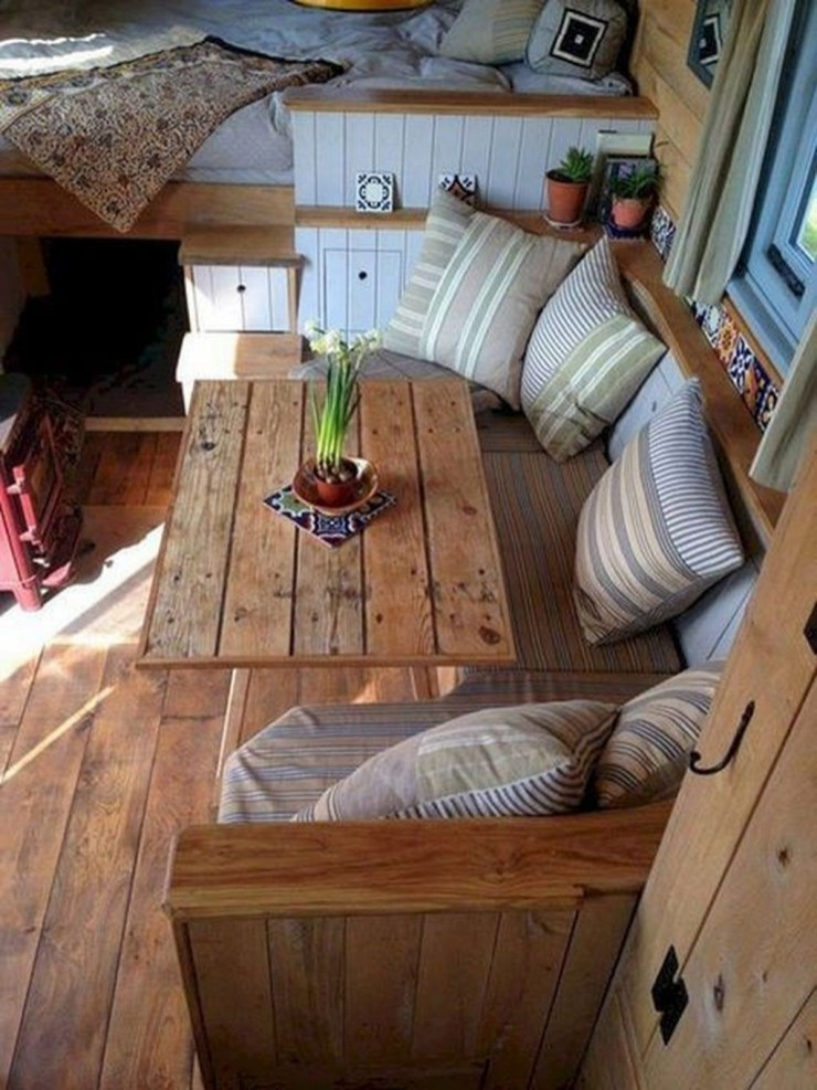 Latest Rv Hacks Makeover Table Ideas On A Budget 24