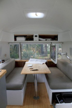 Latest Rv Hacks Makeover Table Ideas On A Budget 36