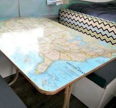 Latest Rv Hacks Makeover Table Ideas On A Budget 46