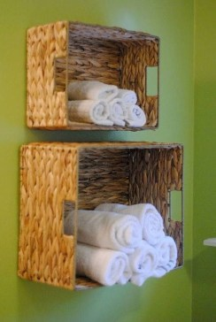 Luxury Towel Storage Ideas For Bathroom 06