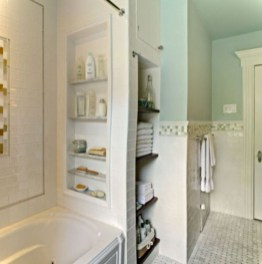 Luxury Towel Storage Ideas For Bathroom 21